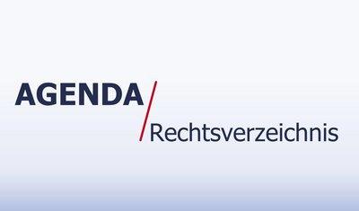Agenda Rechtsverzeichnis von Risolva - neues Video ist online