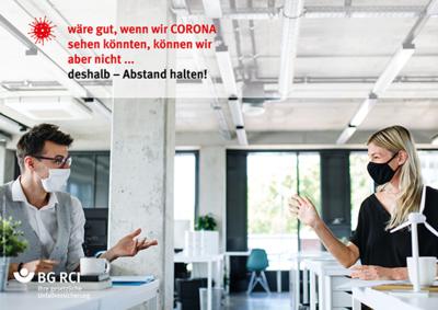 Plakatreihe »Corona-Reminder«