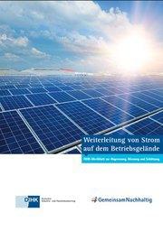 DIHK-Merkblatt zur Abgrenzung von Strommengen Dritter