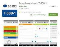 Erst prüfen, dann einschalten: Neue App »Maschinen-Check«