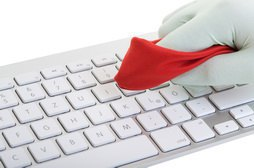 Tastaturen sind Bakterienschleudern
